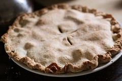 nothing says autumn like apple pie