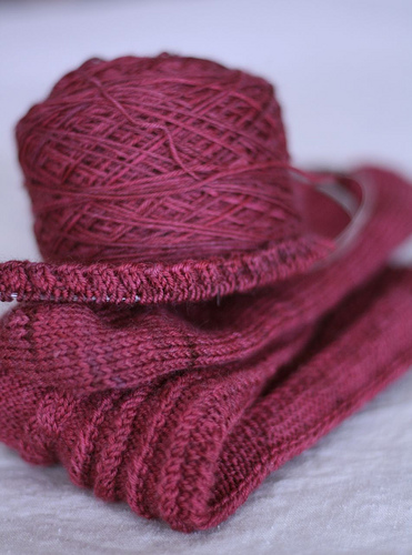 winding cable knee socks
