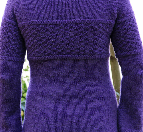 Fitted Knits Textured Tunic